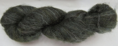 Brushed Kid Mohair - Dark Sage #G-2