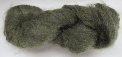 Brushed Kid Mohair - Dark Sage #G-25
