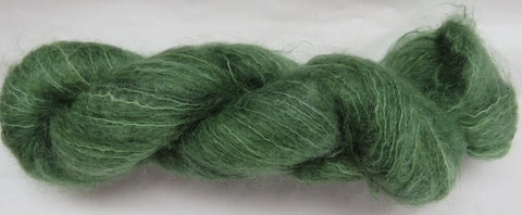 Brushed Kid Mohair - Green #0-13