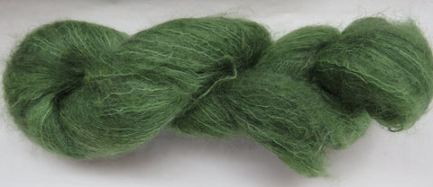 Brushed Kid Mohair - Green #0-14