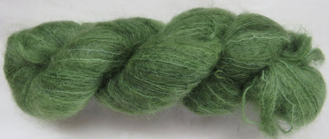 Brushed Kid Mohair - Green #0-15