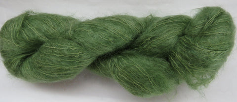 Brushed Kid Mohair - Green #G-17