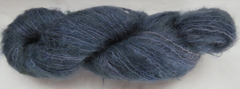 Brushed Kid Mohair - Blue #B-8