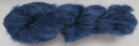 Brushed Kid Mohair - Blue #B-33