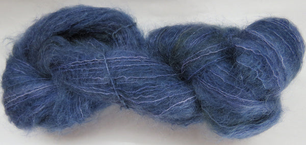 Brushed Kid Mohair - Blue #B-7