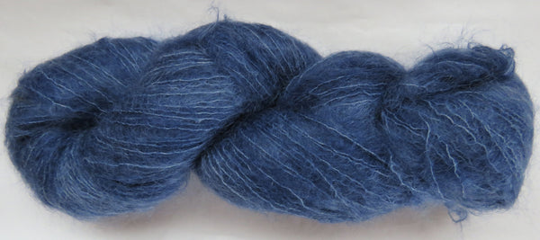 Brushed Kid Mohair - Blue #B-11