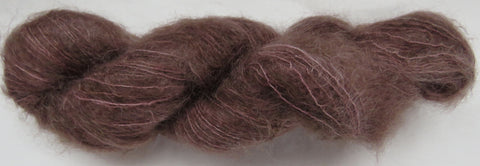 Brushed Kid Mohair - Brown #B2-2