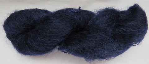 Brushed Kid Mohair - Blue #B-F