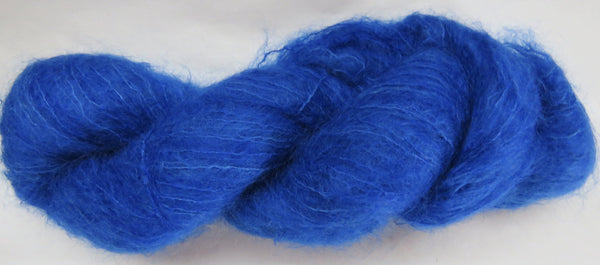Brushed Kid Mohair - Blue #B-16