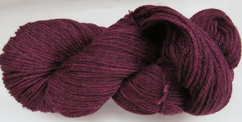 Super Fine Alpaca & Wool - Worsted Weight - Wine #AW-3