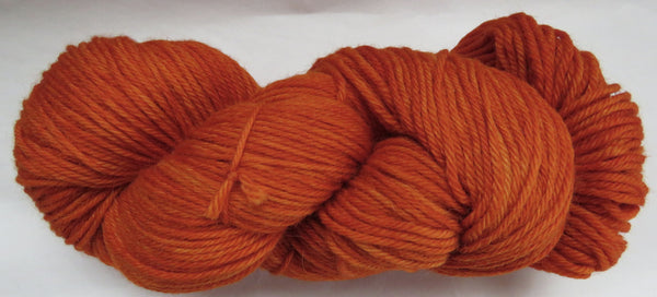 Super Fine Alpaca & Wool - Worsted Weight - Blazing Orange #AW-15