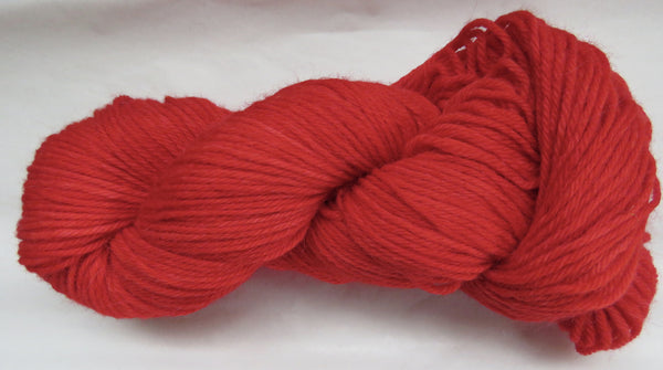 Super Fine Alpaca & Wool - Worsted Weight - Red #AW-16