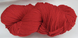 Targhee Wool - Worsted Weight - Red #TA-7