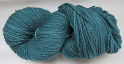 Targhee Wool - Worsted Weight - Teal Green #TA-9