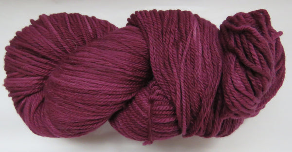 Targhee Wool - Worsted Weight - Wine #TA-11