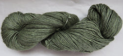 4 ply - Baby Alpaca & Tussah Silk - Sage #0-1 - Light DK Weight