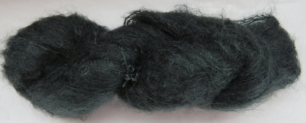 Brushed Kid Mohair - Extreme Dark Sage #G-3