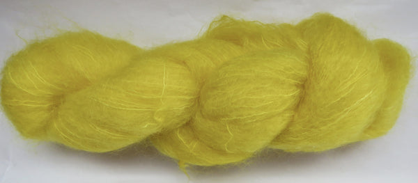 Brushed Kid Mohair - Yellow #Y-3