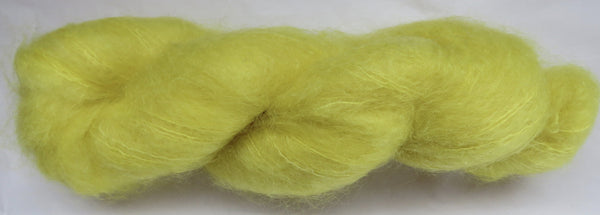 Brushed Kid Mohair - Yellow #Y-2