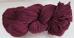 Polwarth Wool - Sport Weight - Wine #PO-13