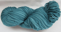 Polwarth Wool - Sport Weight - Teal #PO-16
