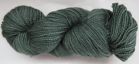 Mohair & Wool - Light DK Weight - Dark Sage #MW-7
