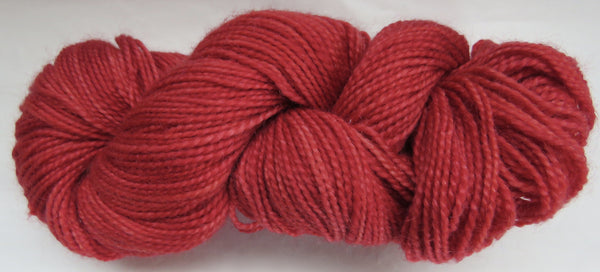 Mohair & Wool - Light DK Weight - Red #MW-8