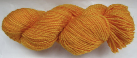 Mohair & Wool - Light DK Weight - Yellow #MW-9