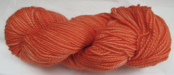Mohair & Wool - Light DK Weight - Orange Red #MW-14