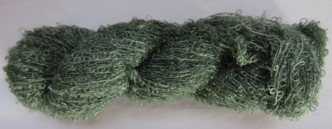 Kid Mohair Boucle - Small Loop - Sage #KIDB-5