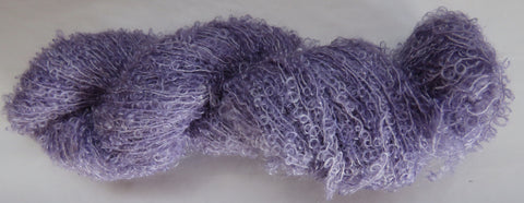 Kid Mohair Boucle - Small Loop - Lavender #KIDB-12