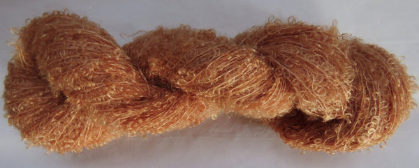 Kid Mohair Boucle - Small Loop - Orange #KIDB-17