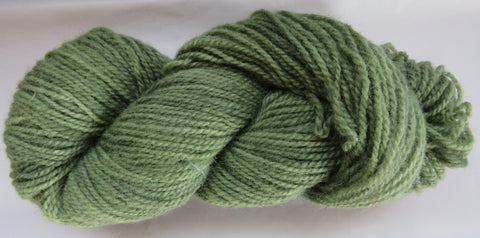 Romney Lambs Wool - Worsted Weight - Sage #RO-3