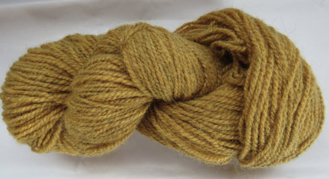 Romney Lambs Wool - Worsted Weight - Yellow #RO-5