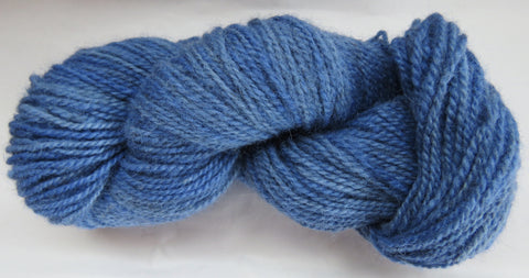 Romney Lambs Wool - Worsted Weight - Blue #RO-6