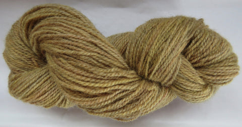 Romney Lambs Wool - Worsted Weight - Yellow #RO-7