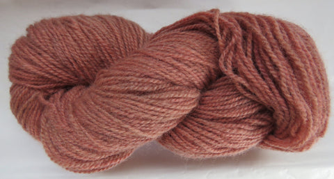 Romney Lambs Wool - Worsted Weight - Coral #RO-8