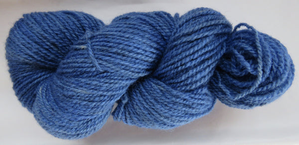 Romney Lambs Wool - Worsted Weight - Blue #RO-9