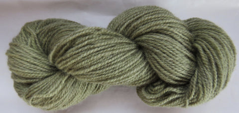 Romney Lambs Wool - Worsted Weight - Sage #RO-10