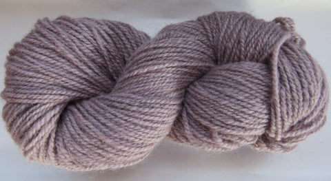 Romney Lambs Wool - Worsted Weight - Light Mauve #RO-13