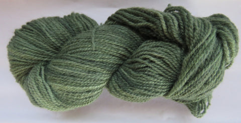 Romney Lambs Wool - Worsted Weight - Sage #RO-16