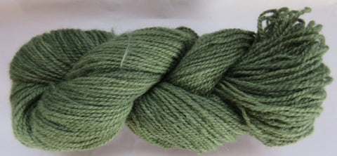 Romney Lambs Wool - Worsted Weight - Sage #RO-17