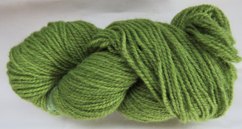 Romney Lambs Wool - Worsted Weight - Moss #RO-18