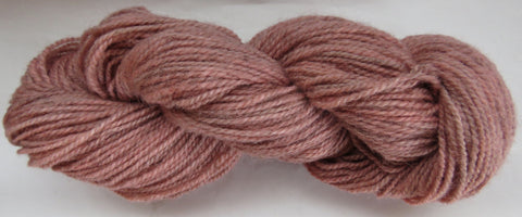 Romney Lambs Wool - Worsted Weight - Blush #RO-21