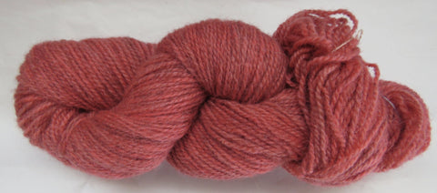 Romney Lambs Wool - Worsted Weight - Red #RO-23