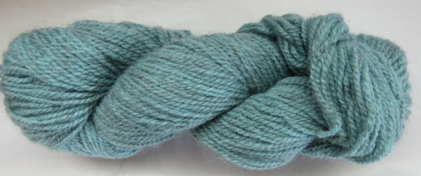 Romney Lambs Wool - Worsted Weight - Aqua #RO-24