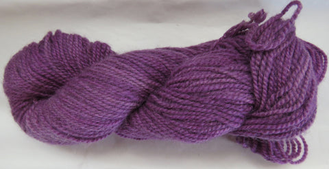 Romney Lambs Wool - Worsted Weight - Violet #RO-26