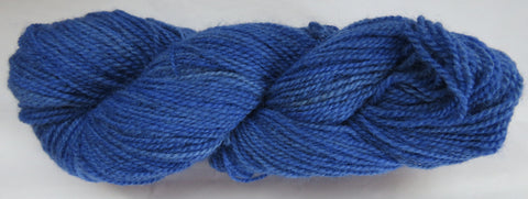 Romney Lambs Wool - Worsted Weight - Blue #RO-27