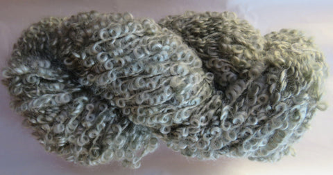 Large Boucle Mohair - Bulky Weight - Sage #LBM-1