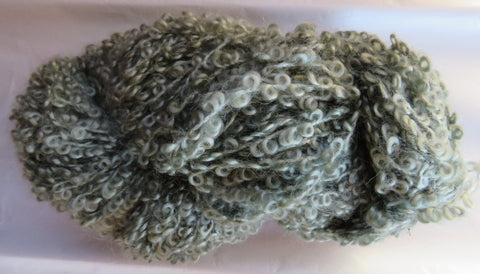 Large Boucle Mohair - Bulky Weight - Sage #LBM-2